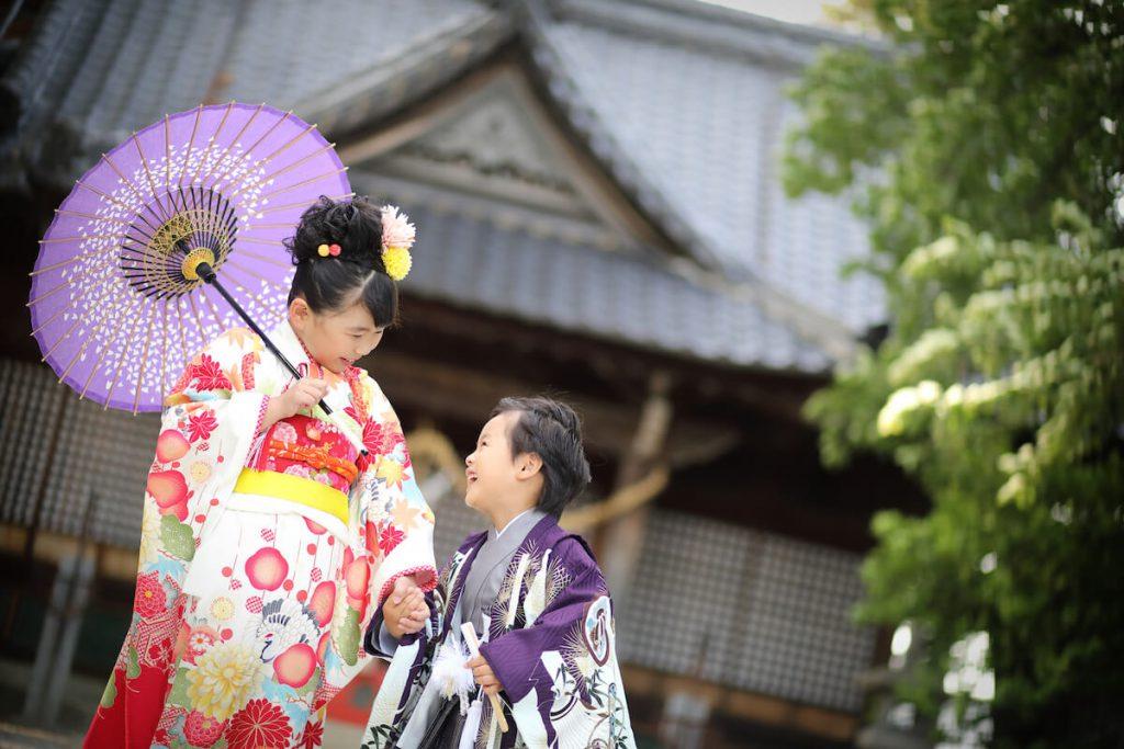 デュボンタン 松本 七五三神社撮影