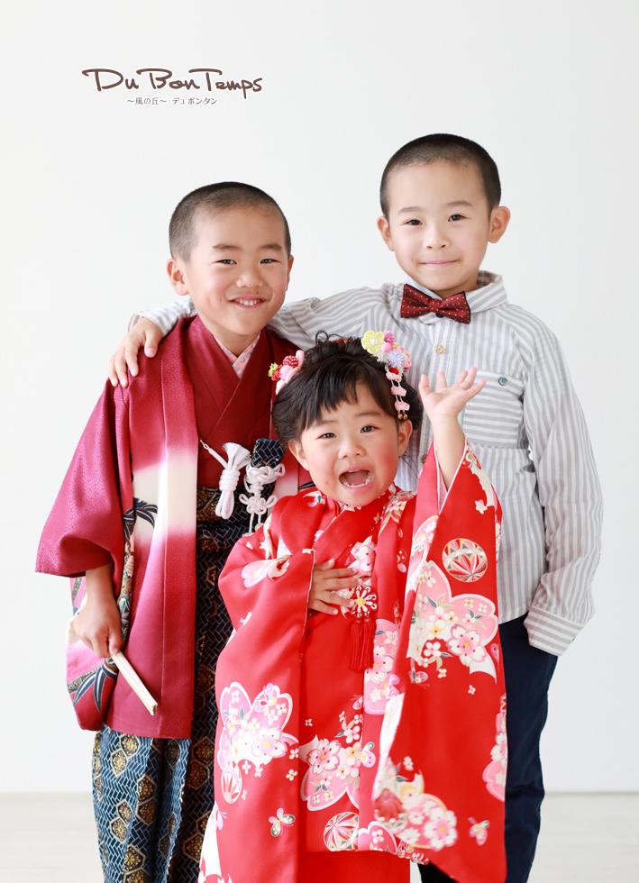 初雪?びっくりな日曜日にバースデー撮影&成人振袖&七五三!