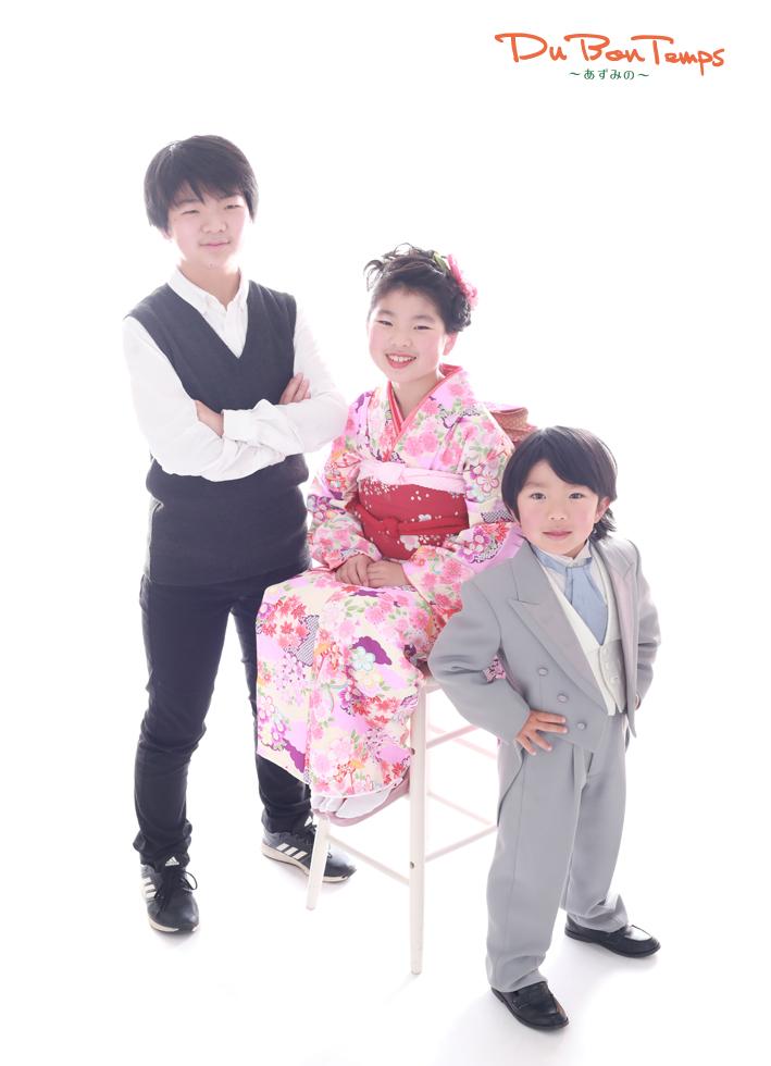 強風注意!笑顔満開!七五三・家族撮影・お宮参り!