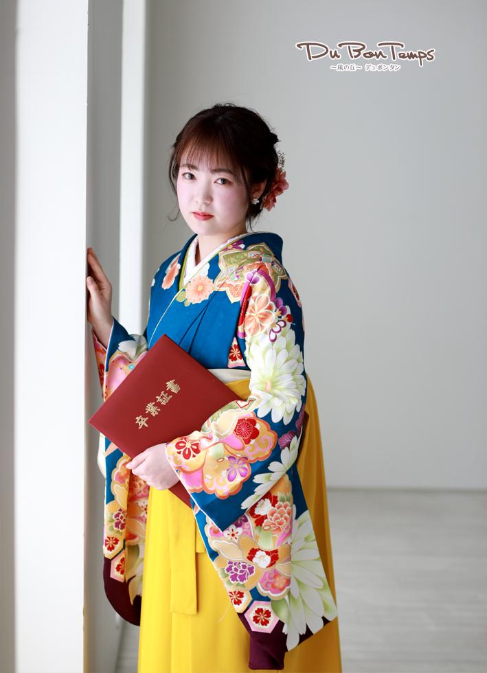 寒いけど七五三!美しい卒業袴!
